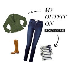 """Saco verde"" by moradaguapa on Polyvore"