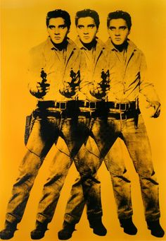 Andy Warhol (after) - Triple Elvis for Andy - Dorfman Projects