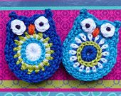 Owl - pattern for sale, wouldn't be hard to work out.