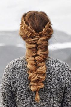 Use clip-in hair extensions to create over-sized braids.