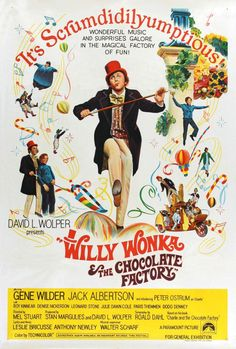 7-17-2014: Willy Wonka and the Chocolate Factory (1971) Poster