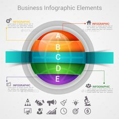#Modern Infographic Options #Banner - #Infographics Download here: https://graphicriver.net/item/modern-infographic-options-banner/11885230?ref=alena994