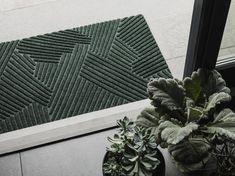 Heymat+ Brings Modern Design to Your Doorstep - Design Milk Modern Doormats, Outdoor Doormats, Three Dimensional, Home Interior Design, Decorative Accessories, Modern Design, Plant Leaves, Commercial, Design Inspiration