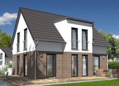 Klinker grau klinker pinterest house smallest house for Hauser plane einfamilienhaus