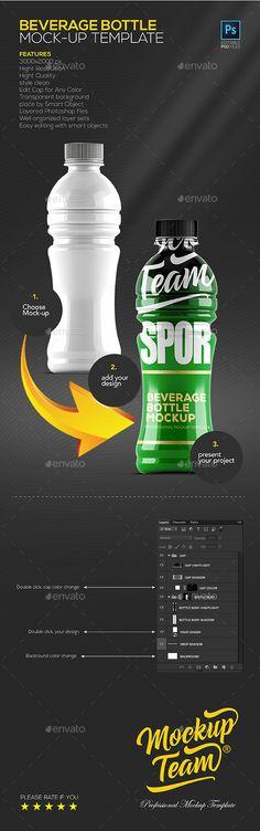 Power Beverage Bottle Mockup. Download here: https://graphicriver.net/item/power-beverage-bottle-mockup-template/17252982?ref=ksioks