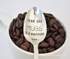 I Like Big Mugs and I can not lie! Add a cute coffee mug and a bag of their favorite coffee for the perfect gift! Please read the entire description before ordering! Styles and patterns vary widely an