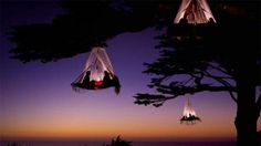 The Minimalist Hotel: Spend The Night In A Portaledge : TreeHugger