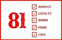 Support 81 Worldwide - HAMC - Hells Angels never Die