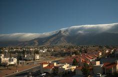 the Franklin mountains of El Paso, Texas