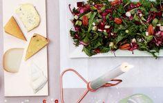 salade met bieten, kool en pecannoten