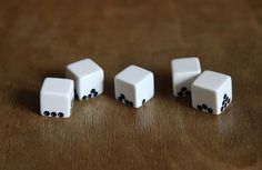 Gravity Dice (via itsnicethat.com)