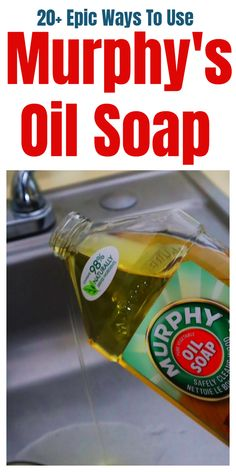 tips and tricks for Epic Murphy& oil soap - 20 tips and tricks for epic . - tips and tricks for Epic Murphys oil soap – 20 tips and tricks for epic Murphys oil soaps ift - Diy Home Cleaning, Household Cleaning Tips, Homemade Cleaning Products, Household Cleaners, Cleaning Recipes, House Cleaning Tips, Natural Cleaning Products, Deep Cleaning, Spring Cleaning