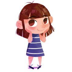 """Just a little selfie ✌️ #drawing #illustration #selfie #girl #art #artwork #artist"""