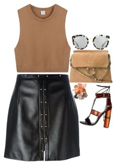 """""""BI••••ES"""" by blueberry-bird97 ❤ liked on Polyvore featuring Chloé, Magda Butrym, Dolce&Gabbana and Tom Ford"""