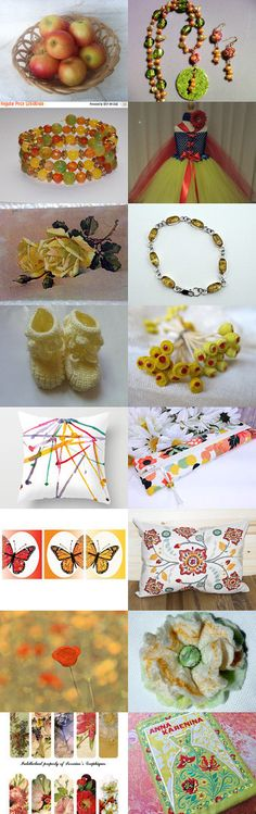 Summer Party by Shoshi Nahmany on Etsy--Pinned+with+TreasuryPin.com