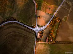"""The Four Streets - DJI Phantom 3 Advanced  Press """"H"""" for View on Black  © All Right Reserved"""