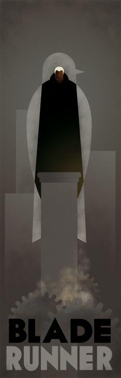Blade Runner - art by Guillemin Greg