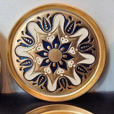 Coasters Middle Eastern India Decor Small Decorative Plate