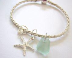 Starfish and Sea Glass~~~
