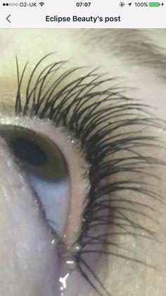 Close up Eyelash Extensions Eclipse Alfreton