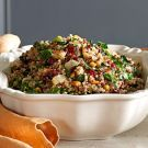 Try the Herbed Quinoa and Red Rice Stuffing with Kale and Pine Nuts Recipe on williams-sonoma.com