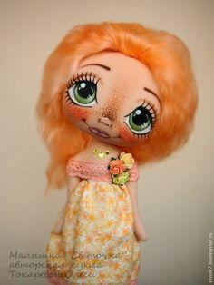 "Collectible dolls handmade.  Fair Masters - handmade Baby ""Sveta"".  Handmade."
