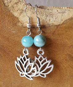 Oorbellen lotus flower voor een kleine prijs te bestellen bij Ekster Jewels!