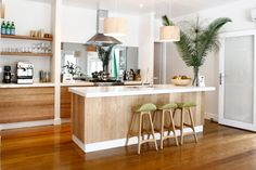 A tour of The Atlantic Byron Bay, Australia coastal beach resort Interior Desing, Interior Inspiration, The Atlantic Byron Bay, Ikea, Tropical Home Decor, Tropical Kitchen, House By The Sea, House 2, Kitchen Stools
