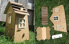 A really cute and simple dolls house idea. Click here for the tutorial http://piratecore.livejournal.com/103220.html#cutid1