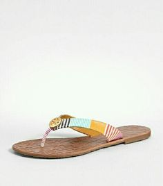 9244a914892 need these tory burch in every color !! Tory Burch Flip Flops