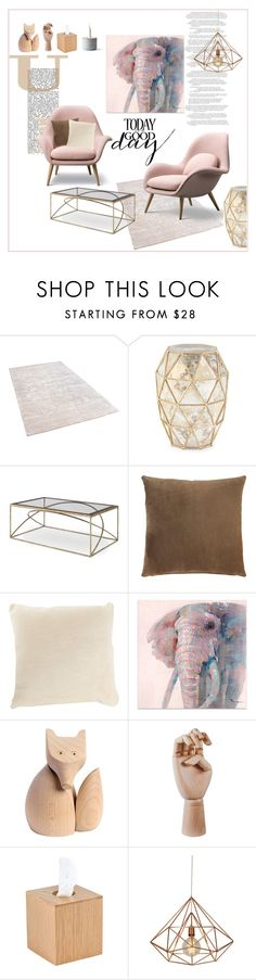 """Untitled #424"" by margarita-m-a on Polyvore featuring interior, interiors, interior design, home, home decor, interior decorating, Bernhardt, Barneys New York, UGG Australia and Woody Zoody"