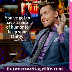 If you don't have a sense of humor, you're not being true to yourself. #humor #lancebass http://BetweenMyStageLife.com
