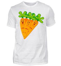 Karotten Motiv Gemüse Möhren T-Shirt Basic Shirts, Mens Tops, Fashion, Carrots, Moda, Fashion Styles, Fasion