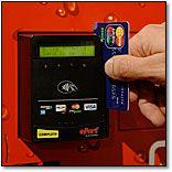 vending machine debit card reader