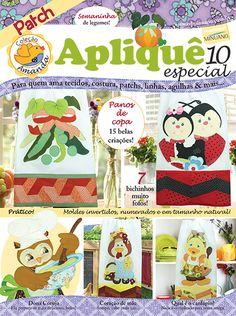Artesanato - Apliquê - Patchwork : COL AMANDA APLIQUE ESP 010 - Editora Minuano