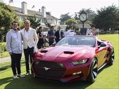 Following up on the original fastback Mustang Rocket that debuted at the Los Angeles Auto Show last fall, Galpin Auto Sports and Henrick Fisker used the Pebble Beach Concours d'Elegance to show its open-air sibling, the Galpin Ford Fisker Mustang...