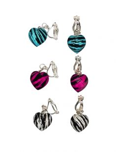 9 pairs lot of cute kawaii flower clip on earrings for kids women girl gift new cliponearrings. Black Bedroom Furniture Sets. Home Design Ideas