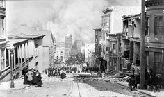 San Francisco, 1908 April, 7.8 magnitude earthquake