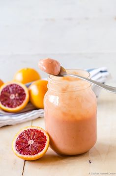 Blood orange curd is a simple citrus treat that is great to slather on toast, swirl in ice cream, and even eat with a spoon!