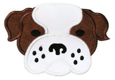 Bulldog Face Machine Embroidery Applique by SimplySweetEmbroider, $4.00