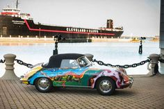 Janis Joplin's 1965 Porsche 356C Cabriolet will be auctioned off in New York by RM Sotheby's on December 10, 2015. She had purchased the Pearl white Porsche in September of 1968, and a Friend painted it with a psychedelic mural for her. She drove it until her death in 1970.  The car has spent the last 2 decades being featured at Cleveland's Rock & Roll Hall of Fame & Museum & is expected to bring in approximately $400,000. ~ MSN.com 09/14/15