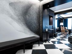 I want to go to there!! Chess Hotel Paris by Gilles & Boissier