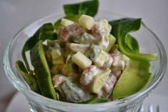 Eet lekker: Hollandse garnalencocktail met avocado en appel