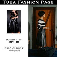 """107 Me gusta, 1 comentarios - TUBA FASHION PAGE (@tuba.fashion) en Instagram: """"- #TubaBüyüküstün's Skirt by @esra_gurses   $40 - As Sühan in #CesurVeGüzel Ep: 25…"""""""