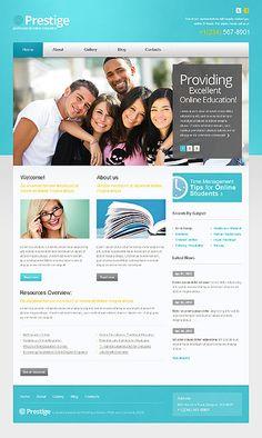 Prestige University WordPress Themes by Mercury