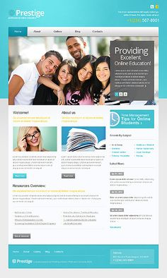Prestige University WordPress Themes by Mercury
