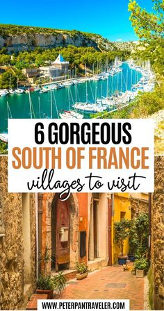6 Gorgeous South of France Villages to visit | Are you looking to Travel to the South of France? Do you want the perfect Itinerary for your France vacation? Here is a list of the best villages in the South of France | South of France Villages | Best Villages in South of France | Best Villages South France | South of France Itinerary | South of France Travel | South of France Travel Bucket Lists | South of France Travel Destinations #villages #travel #southoffrance #france Hiking Europe, Road Trip Europe, Europe Travel Guide, Travel Guides, France Destinations, Travel Destinations, Paris France Travel, Castles To Visit, Day Trip From Paris