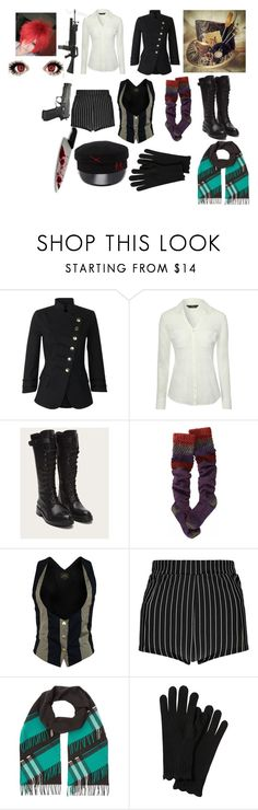 """""""Mad Hatter, Not So Hatter"""" by chase-chris on Polyvore featuring French Connection, Jane Norman, Frye, Smartwool, Vivienne Westwood Anglomania, Boohoo and Burberry"""