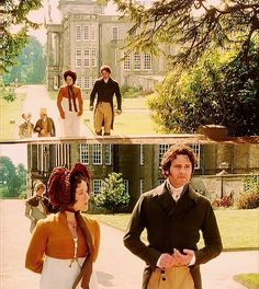 Pride and Prejudice directed by Simon Langton (TV Mini-Series, BBC 1995) #janeausten #fanart
