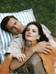 Robert Wagner & Natalie Wood - it did not get any more romantic than this♥